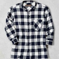 Wolf & Man Twitch 3/4-Sleeve Button-Down Shirt