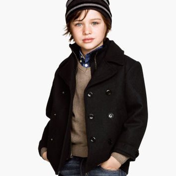 Pea Coat - from H&M