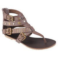Hailey Jeans Co Womens T-strap Gladiator Sandals