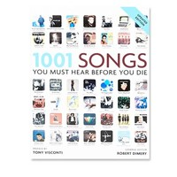 1001 Songs Book at Urban Outfitters
