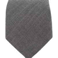 Classic Chambray - Soft Gray (Cotton) from TheTieBar.com - Wear Your Good Tie Everyday