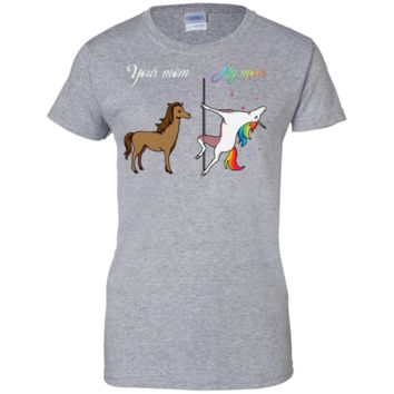 The Best Selling T shirt Your Mom -My Mom -You and Me Unicorn- Your Son and My son You and Me Unicorn-  Dancing Unicorn