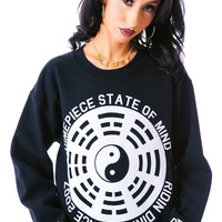 Dimepiece State of Mind Sweatshirt Black