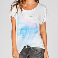 ROXY Over The River Womens Tee