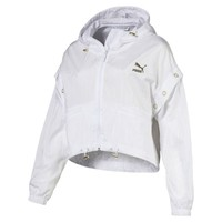 Retro Windrunner Zip-Up Women's Hooded Jacket | Puma White | PUMA New Arrivals | PUMA United States