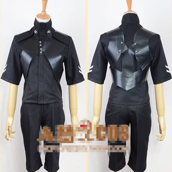 Tokyo Ghouls II Ken Kaneki Cosplay Costume Battleframe Leather Unitard Suit/Hooded Coat/Pants Halloween Costumes for Women/Men