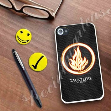 Divergent Dauntless The Brave Case for iPhone 4/4s, iPhone 5/5S/5C, Samsung S3 i9300, Samsung S4 i9500 **