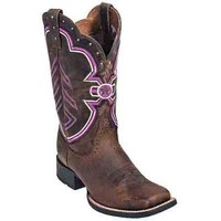 Ariat Boots: Women's Brown Duratread Freedom Cowboy Boots 10010172