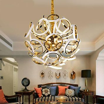 Newest Globe Design Modern Led Ceiling Pendant Lamp