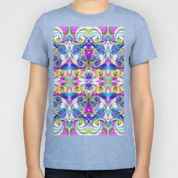 Indian Style G161 Kids T-Shirt by MedusArt