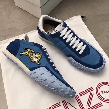 Kenzo Women Casual Flats Shoes Sneakers Sport Shoes