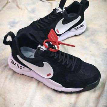 Off White X Tom Sachs X Nikecraft Mars Yar 2.0 Aa2261 00210 Sport Running Shoes - Best Online Sale