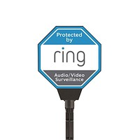 Ring Solar Security Sign