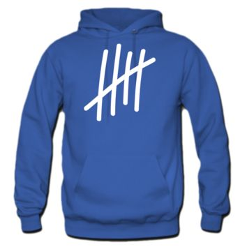 5 lines 5 times  birthday gift sport Hoodie