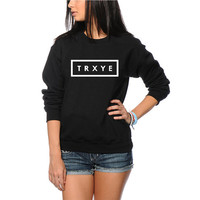 TRXYE - Troye Sivan Unisex Sweatshirt - Black and Grey Jumpers Available