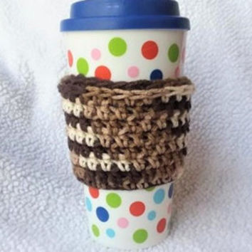 Crochet Cup Cozy, Coffee Sleeve, Coffee Gift