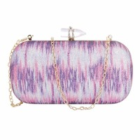 Tuankay Evening Clutch Bag Women Luxury Banquet Wedding Rhinestone Handbags (Purple: Amazon.ca: Shoes & Handbags