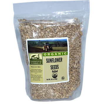 Woodstock Organic Hulled Sunflower Seeds -8x12 Oz-