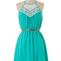 Fun Festivities Dress - Jade