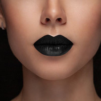 Black Widow (Blackest Black) Matte Lipstick