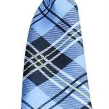 Big Dog Neck Tie Plaid Blue