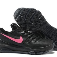 PEAPON3A VAWA Nike Men's Durant Zoom KD 8 Flyline Basketball Shoes Black Pink