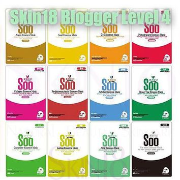 Blogger's Pack (Level 4) Soo Essence Mask for 4 Seasons x 4pcs