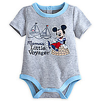 Mickey Mouse Disney Cuddly Bodysuit for Baby