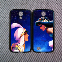 Samsung Galaxy Note 3 case,Aladdin and Princess Jasmine,Samsung Galaxy S4 case,Samsung Galaxy S5 case,Samsung Galaxy S3/S4 mini case.
