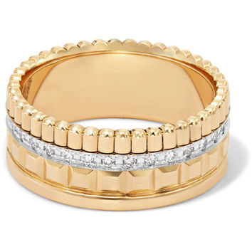 Boucheron - Quatre Radiant Edition Small 18-karat gold diamond ring