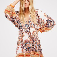 Free People Say You Love Me Mini Dress