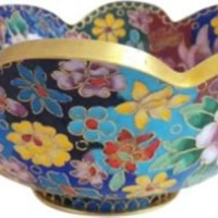 One Kings Lane - Vintage & Unique Gifts - Cloisonné Bowl