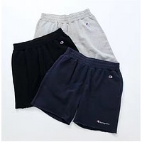 Champion Contracted sport woolly shorts men and women together  Nary blue