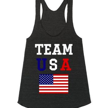 USA | Racerback | SKREENED