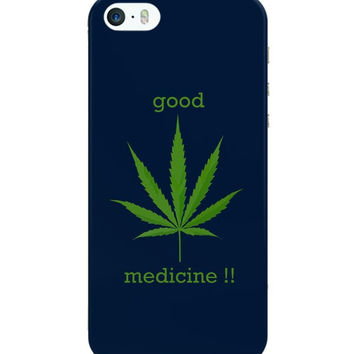 Good Medicine | Weed iPhone 5 / 5S Case Cover