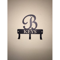 Personalized Monogram Key Holder with Name