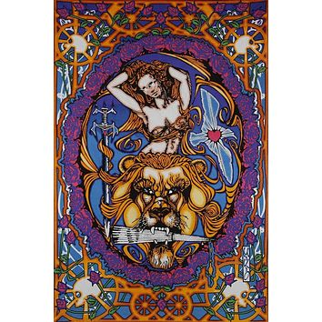 3D Lady Of Carlisle Psyche Tapestry Tablecloth Spread 60x90 inches Beach Sheet