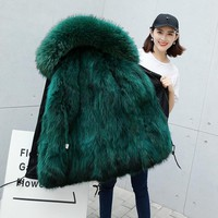2017 Limited Rushed Faux Fur Full Regular Zipper Faux Fur Vest Stars With Fur Coat Whom The Season Fox Bladder Sent To Overcome