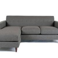 Huntington Industries Harper Flip Chaise Sectional