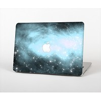 The Bright Blue Vivid Galaxy Skin Set for the Apple MacBook Air 13""