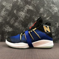 New Balance OMN1S Kawhi 2-Way Playoff NB BBOMN1PF Black Royal White Gold - Best Deal Online
