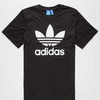 Adidas Originals Trefoil Mens T-Shirt Black  In Sizes