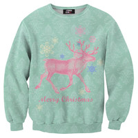 Christmas deer sweater