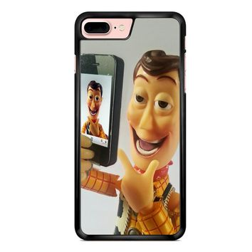 Disneyland Toy Story Woody Selfie iPhone 7 Plus Case