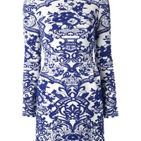 Valentino Embroidered Floral Dress
