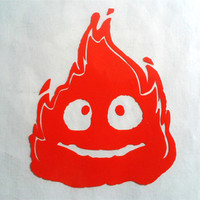 Calcifer from Safety Bunny's Decal Shop
