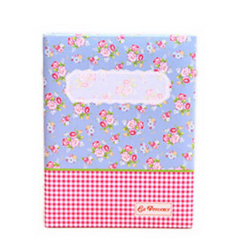 Creative Inset Photo Memory Book/Album of Baby's First 5 Years(Pink Plaid)