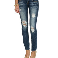 Triple Stitch Skinny Jean | Shop Jeans at Wet Seal
