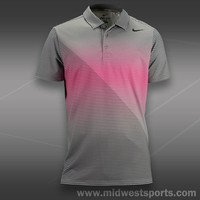 Nike Mens Tennis Shirt, Nike Sphere Stripe Polo 522943-066