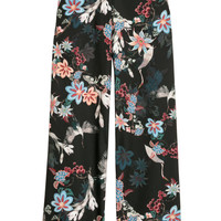Wide-cut Satin Pants - from H&M